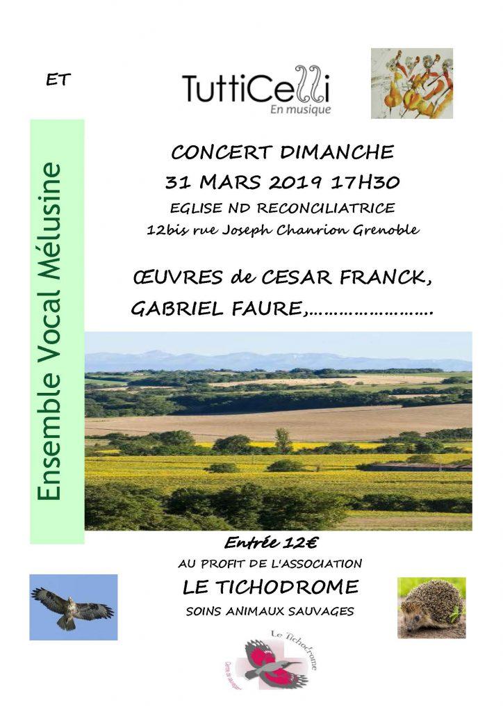 concert 31 mars