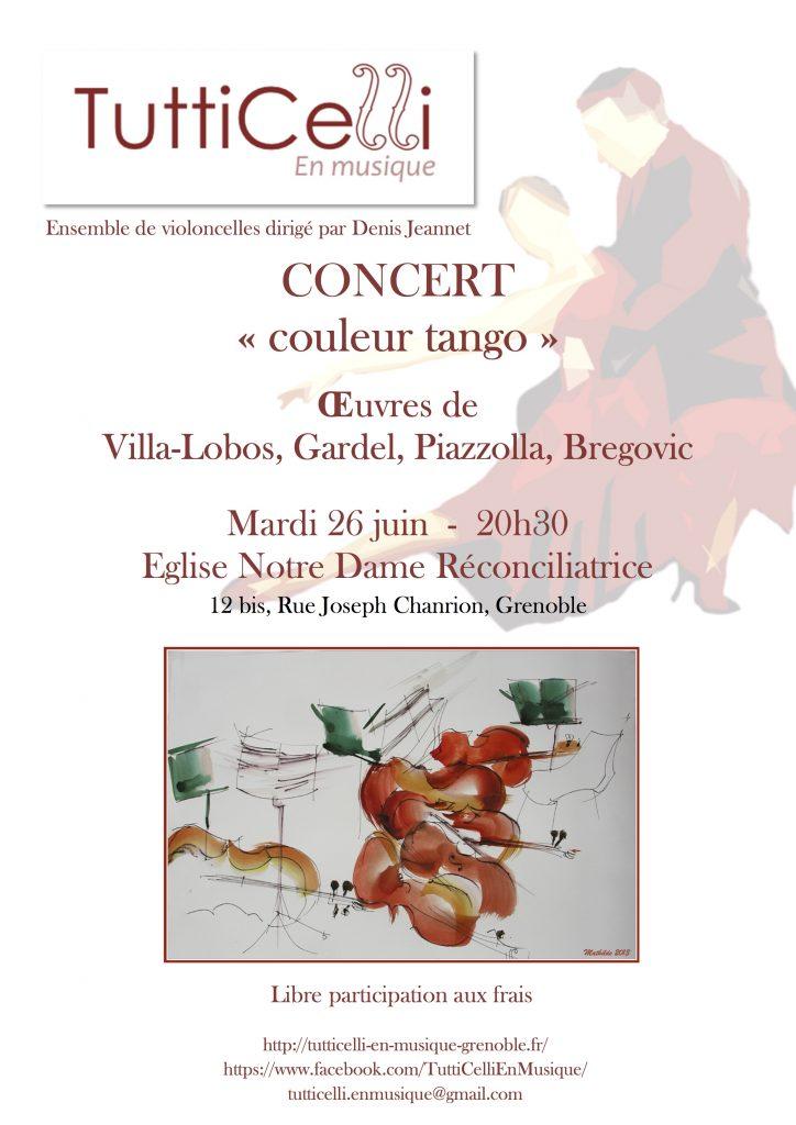 Concert couleur tango